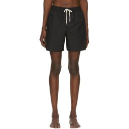Black Traveler Swim Shorts