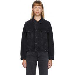 Black Denim Charli Jacket