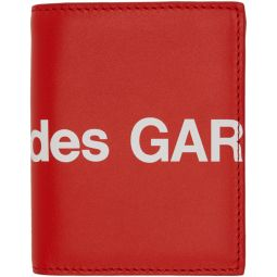 Red Huge Logo Card Holder