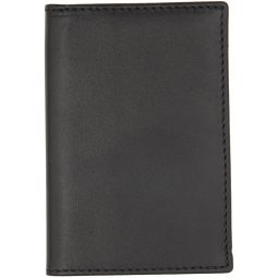 Black Classic Foldover Bifold Card Holder
