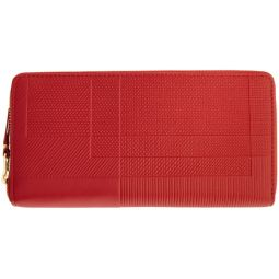 Red Intersection Continental Wallet