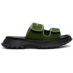 Khaki Spectre Sandals