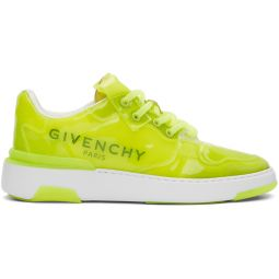 Yellow Translucent Wing Low Sneakers
