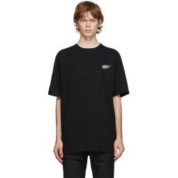 Black Sculpture Print T-Shirt