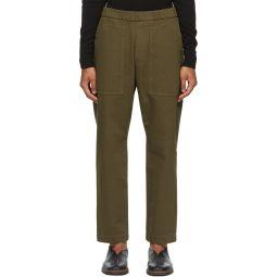 Khaki Trabaco Trousers