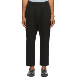 Black Trabaco Trousers