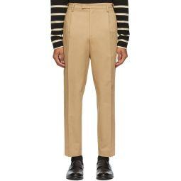 Beige Masco Trousers