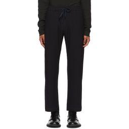 Navy Bativoga Trousers