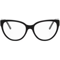 Black Acetate Cat-Eye Glasses