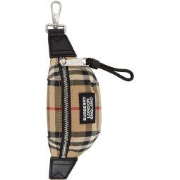 Beige Sonny Bum Bag Keychain