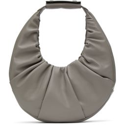 Grey Soft Moon Bag