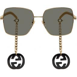 Gold & Black GG0724S Sunglasses