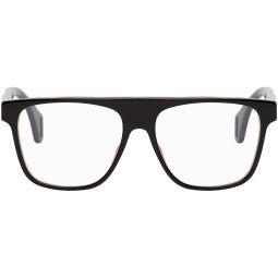 Black & Tortoiseshell Square Glasses