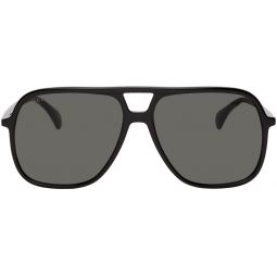 Black Ultralight Pilot Sunglasses