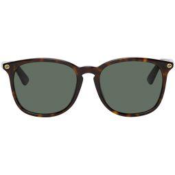 Tortoiseshell Sqaure Sunglasses