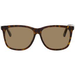 Tortoiseshell Square Sunglasses