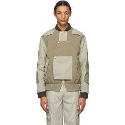 SSENSE Exclusive Beige & Khaki Proposal A Jacket