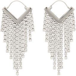 Silver Melting Earrings