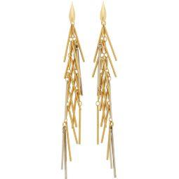 Gold Swung Earrings