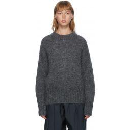Grey Mohair Estelle Sweater