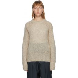 Beige Mohair Estelle Sweater