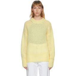 Yellow Mohair Estelle Sweater