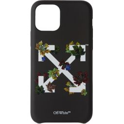 Black Leaves iPhone 11 Pro Case