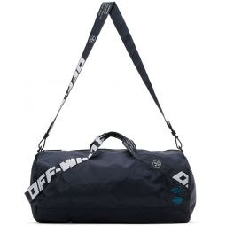 Navy Nylon Duffle Bag