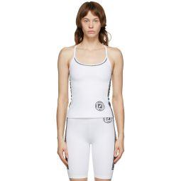 White Fendirama Fitness Top
