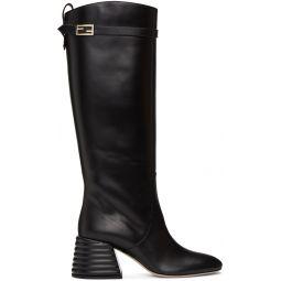 Black Promenade Tall Boots