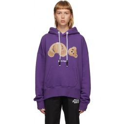 Purple Bear Hoodie