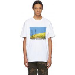 White Julian Klincewicz Edition 'Communication' T-Shirt