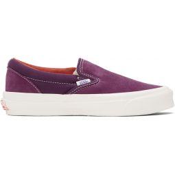 Purple Suede OG Classic Slip-On Sneaker