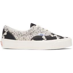 Black & White Skull OG Era LX Sneakers