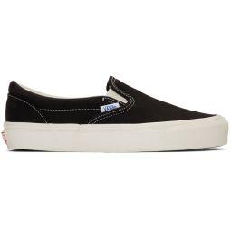 Black OG Classic Slip-On Sneakers