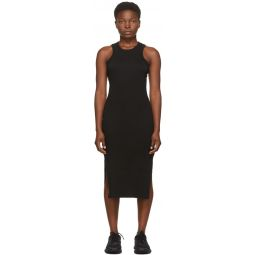 Black Supima Midi Dress