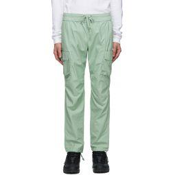 Green Cotton Cargo Pants