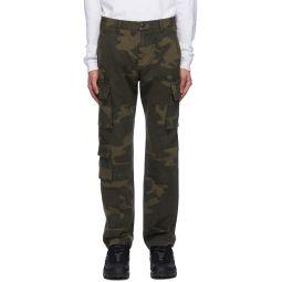 Brown Utility Cargo Pants