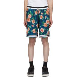 Multicolor Floral Game Shorts