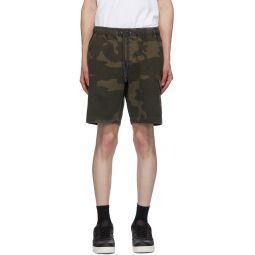 Brown Utility Cargo Shorts