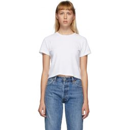 White Hanes Edition Heritage 1950s Boxy T-Shirt