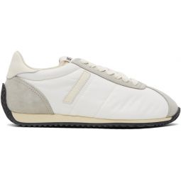 White 70s Runner Sneakers