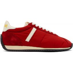 Red 70s Runner Sneakers