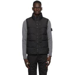 Black Down Crinkle Reps NY Vest