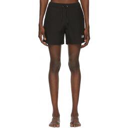 Black Logo Core Swim Shorts