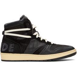 Black Rhecess Hi Sneakers