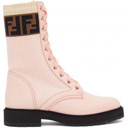 Pink 'Forever Fendi' Rockoko Boots