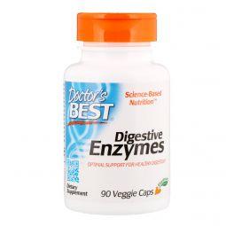 Doctors Best, Digestive Enzymes, 90 Veggie Caps