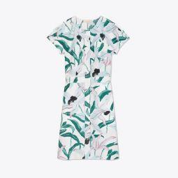 Printed Cotton Shirtdress