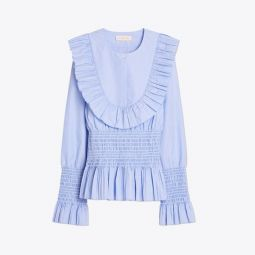 Smocked Cotton Top